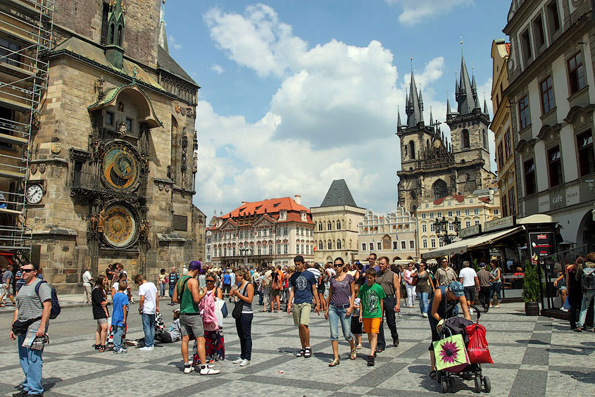 Староместка площадь в Праге