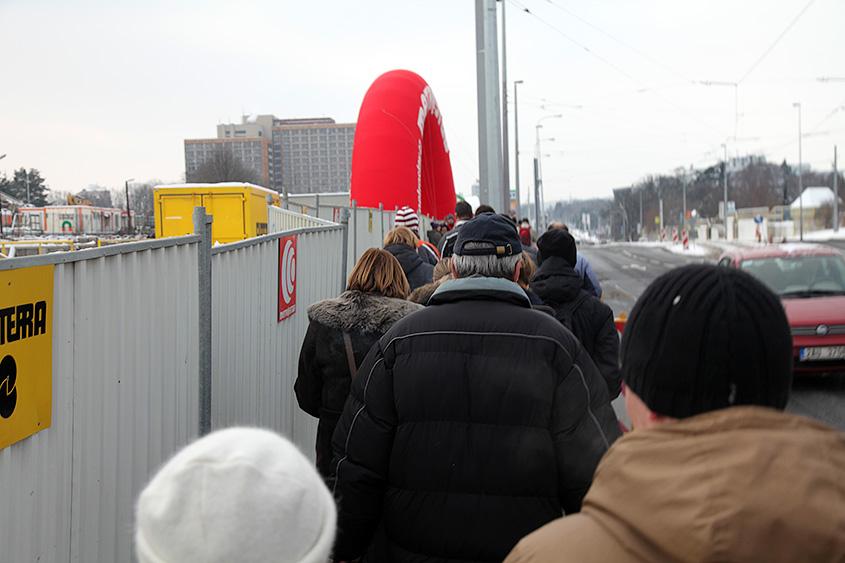 День открытых дверей ветка А пражского метрополитена